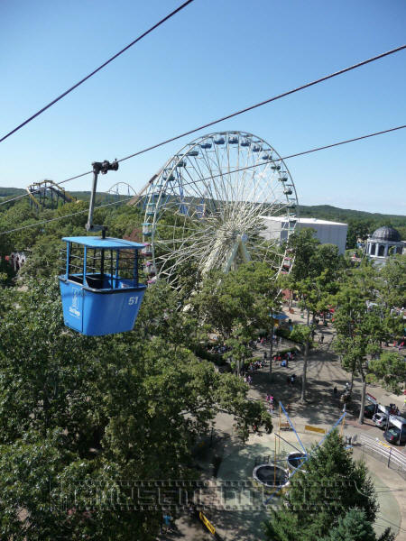 Six Flags Great Adventure Skyride