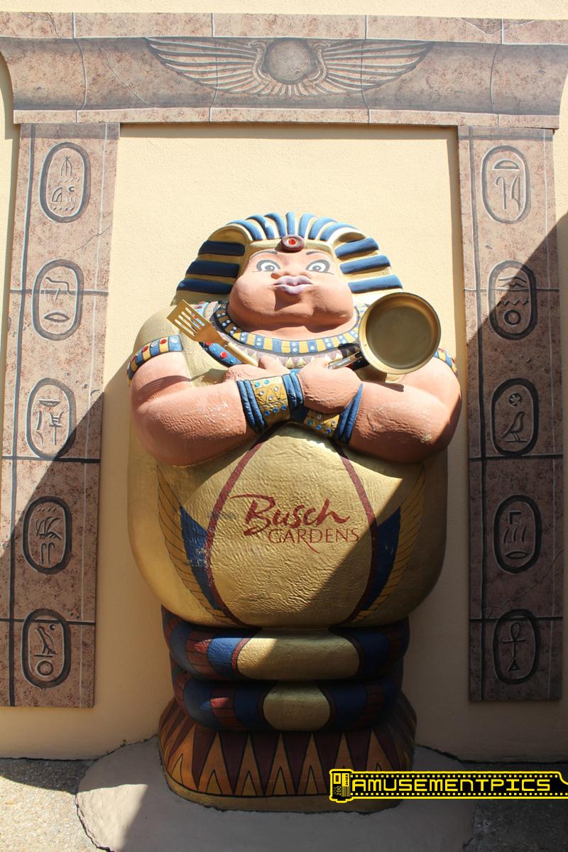 Egypt at Busch Gardens- Tampa Bay, Florida