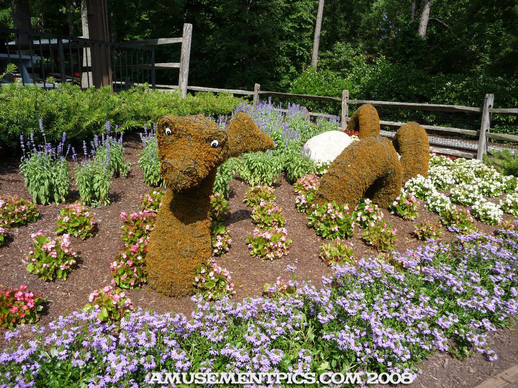 Busch Gardens Williamsburg Landscaping & Atmosphere- Heather Downs