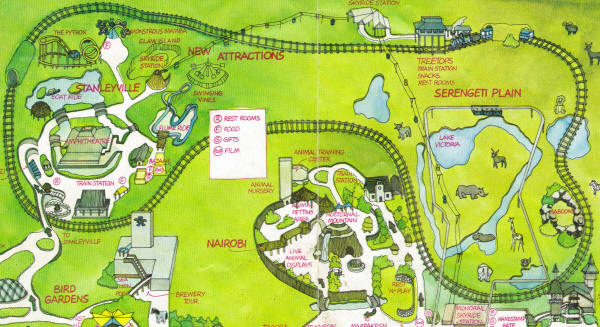 Old busch gardens williamsburg maps garden ftempo for Garden design map
